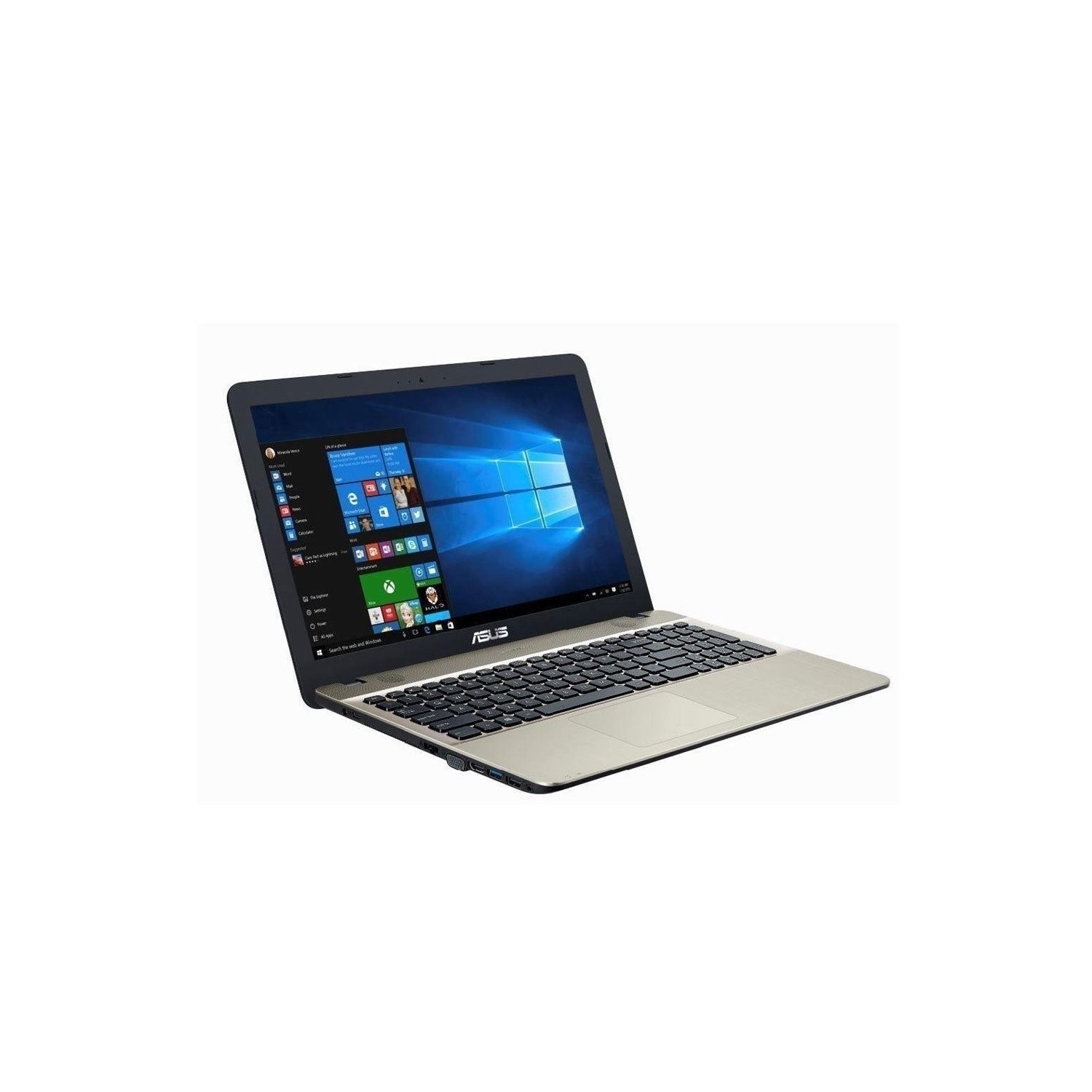 GRADE A3 - Asus VivoBook Core i7-7500U 8GB 1TB DVD-RW 15 6 Inch Windows 10  Laptop