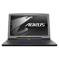 Box Opened Aorus X7 V6-CF2 Core i7-6820HK 16GB 1TB + 256GB SSD GeForce GTX 1070 17.3 Inch Windows 10 Gaming Lap