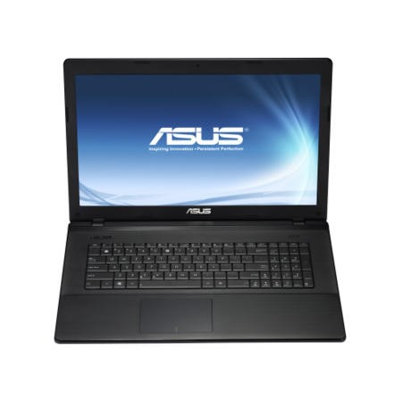 Refurbished Grade A1 Asus X75VD Core i5 4GB 500GB 17.3 inch Windows 7 Laptop in Black