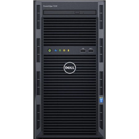 Dell PowerEdge T130 Xeon E3-1220V6 3GHz 4GB 1TB Tower Server