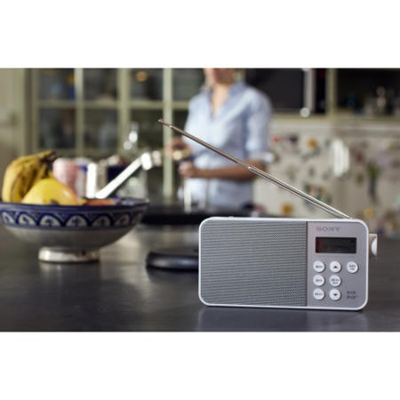 Sony XDR-S40D Portable DAB Radio - White