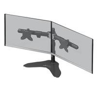 "Xtrfy ST2 Monitor Stand for 2 Monitors - 15"" to 24"" in Black"