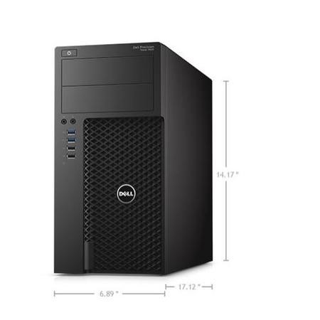 Y1RHP Dell Precision Tower 3620 Core i7-6700 8GB 1TB DVD-RW Windows 10 Professional Desktop
