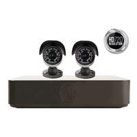 Yale Premium HD 4 Channel 720 DVR - 2 Camera CCTV Kit with 500GB installed