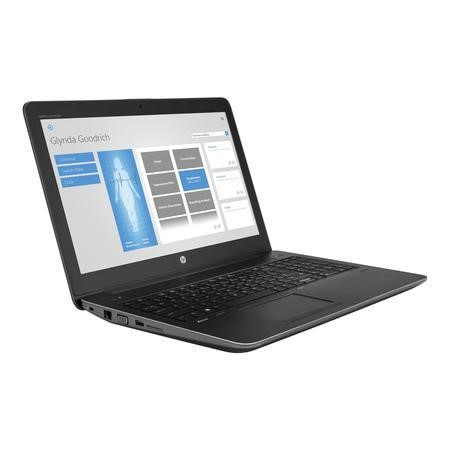Y6K19ET HP ZBook 15 G4 Core i7-7700HQ 8GB 256GB SSD 15.6 Inch Windows 10 Professional Laptop