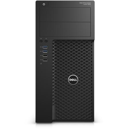 A1/Y7XGJ Refurbished Dell Precision T3620 Intel Xeon E3-1240 16GB 256GB Quadro P2000 DVD-RW Windows 10 Professional Desktop