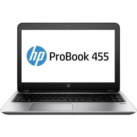 Y8B09EA HP Pro Book 455 AMD A9-9410 4GB 500GB DVD-RW 15.6 Inch Windows 10 Professional Laptop