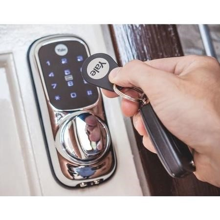 Yale Keyless Connected Ready Smart Door Lock - Chrome