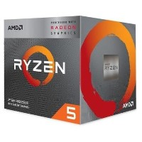 AMD RYZEN 5 3400G Quad-Core 3.7GHz Socket AM4 Turbo 4.2GHz - Retail