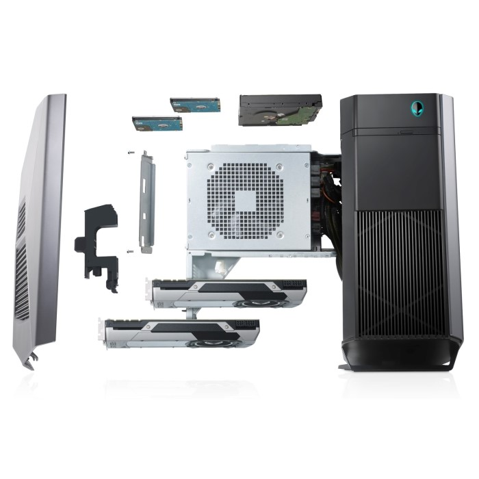 Alienware Aurora Core i7-8700K 32GB 2TB + 512GB SSD GeForce GTX 1080 Ti  11GB Windows 10 Gaming PC