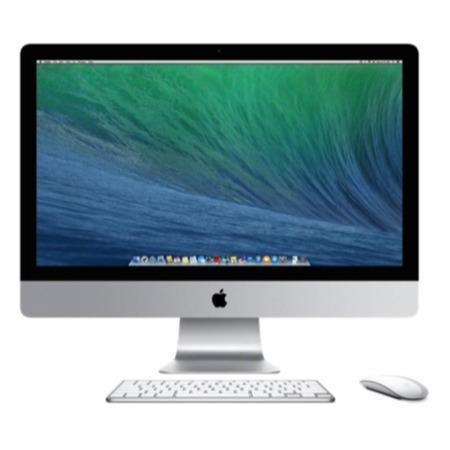 "Apple iMac 27"" i5 3.2GHz Quad-core 8GB 1TB Nvidia GeForce 755M 1GB All In One Desktop - Wired Keyboard and mice"