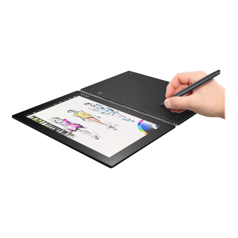 Lenovo YogaBook Intel Atom Z8550 4GB 64GB 10 1 Inch Windows 10 Professional  Convertible Tablet