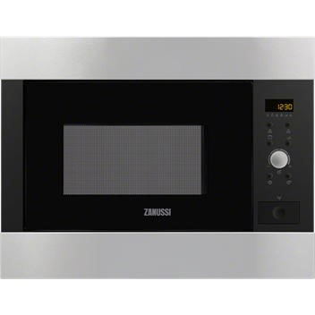 Zanussi ZBG26542XA Built-in inclusive frame Microwave Oven in Stainless Steel with antifingerprint coating