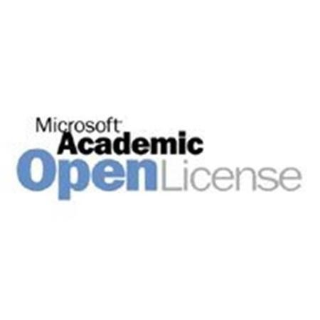 Microsoft® Dynamics CRM CAL Sngl Software Assurance Academic OPEN 1 License No Level User CAL User CAL Qualified