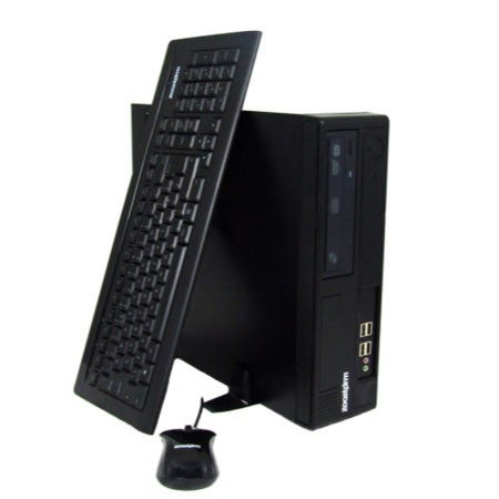 Zoostorm Pro SFF Intel Pentium G2130 500GB 4GB GT610 Windows 8 Professional Downgraded to Windows 7 Professional Desktop