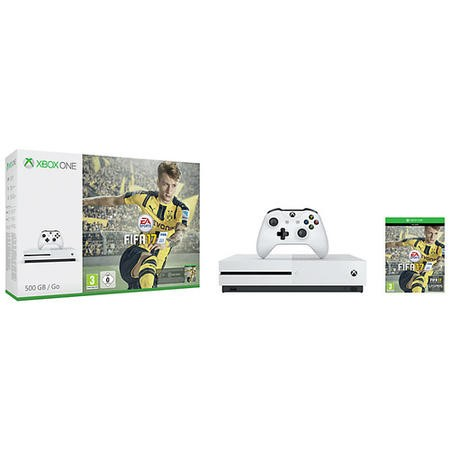 Xbox One S 500GB Console with Fifa 17