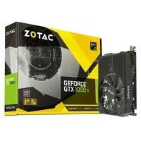 ZOTAC GeForce GTX 1050 Ti  4GB DDR5 Mini  Graphics Cards