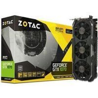 ZOTAC GeForce GTX 1070 AMP 8GB Extreme Graphics Card