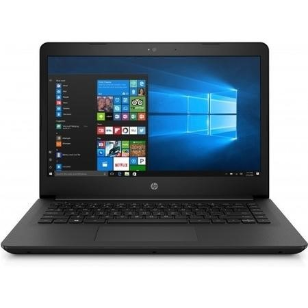 "a1/2PZ36EA Refurbished HP 14-bp072sa 14"" Intel Core i3-7100U 4GB 128GB SSD Windows 10 in Black"
