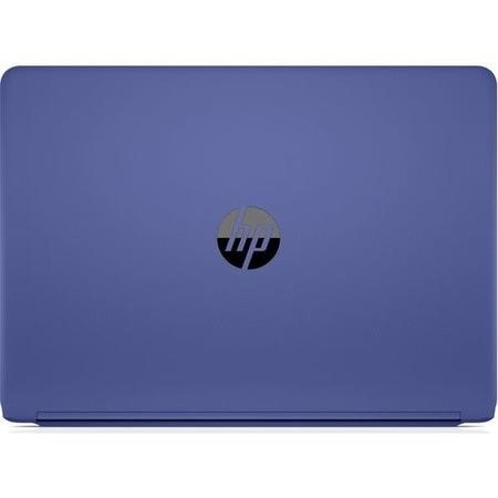 Refurbished HP 14-bp073sa Core i3-7100U 4GB 128GB 14 Inch Windows 10 Laptop in Marine Blue