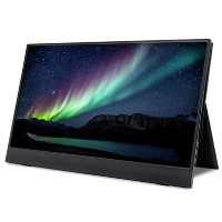 "electriQ 15.6"" IPS UHD 4K Type C Portable Monitor"