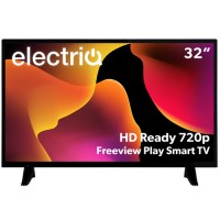 "electriQ eiQ-32HDT2DVD 32"" HD LED TV with Freeview HD & DVD Player"