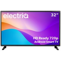"GRADE A2 - electriQ 32"" HD Ready Android Smart LED TV with Freeview HD"