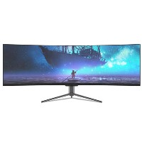 "electriQ 43"" Super UltraWide 120Hz HDR400 Curved Monitor"