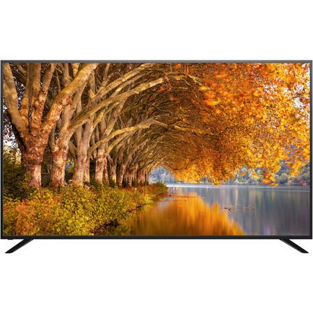 "Refurbished ElectriQ 75"" 4K Ultra HD with HDR LED Freeview HD Smart TV"
