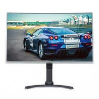 "ElectriQ 32"" Full HD Freesync 144Hz Curved Height Adjustable Gaming Monitor"