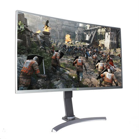 "electriQ 32"" Full HD Freesync 144Hz Curved Gaming Monitor with FREE Gaming Keyboard & Mouse"
