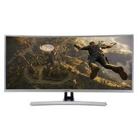 "electriQ 34"" HDMI QHD Freesync Curved Gaming Monitor"