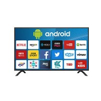 "Grade A1 - electriQ 43"" 4K Ultra HD HDR LED Android Smart TV with Freeview HD"