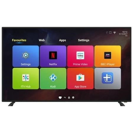 "eiq-49FHDT2SM electriQ 49"" 1080p Full HD LED Android Smart TV with Freeview HD"
