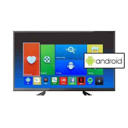 electriQ 50 Inch Full HD 1080p Android Smart LED TV with Freeview HD