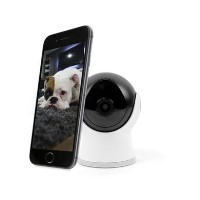 electriQ HD 720p Wifi Zoom Mini Camera with 2-way audio & dedicated App