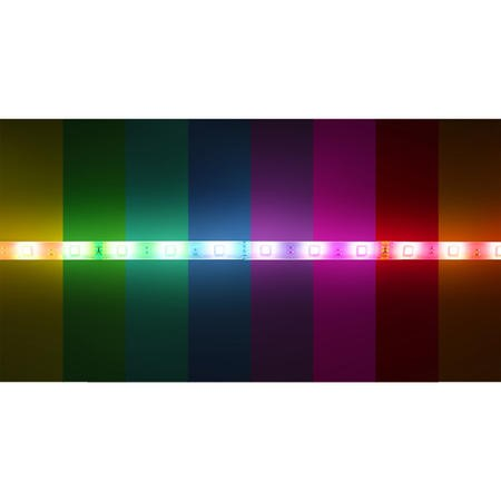 electriQ 3 Metre Wifi Smart Colour LED Backlight Strip - Cut to size