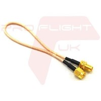 200mm SMA Plug to SMA Jack Antenna Extension Cable