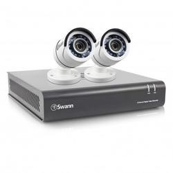 Box Opened Swann DVR4-4550 4 Channel HD 1080p Digital Video Recorder with 2 x PRO-T853 1080p Cameras & 1TB Hard Drive