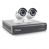 Box Opened Swann A1 DVR4-4550 4 Channel 1080p DVR with 1TB installed and 2 x PRO-T853 Cameras