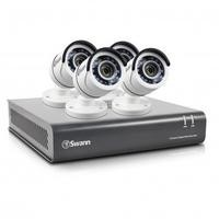 Swann Box Opened CCTV DVR8-4550 - 8 Channel 1080p HD DVR with 2TB Installed & 4 x PRO-T853 Cameras