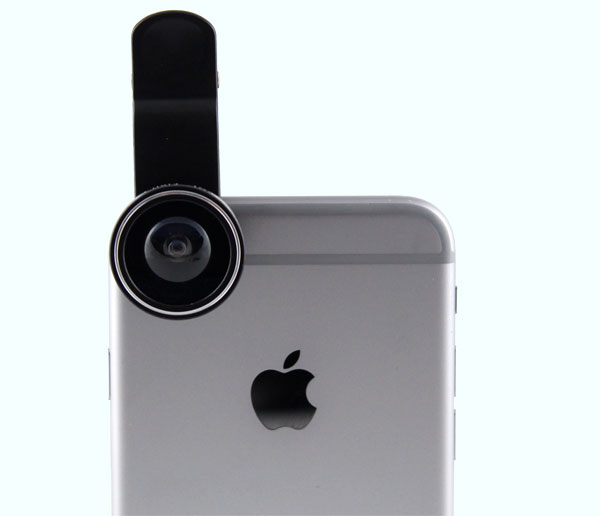 3 in 1 lens clip for smartphone