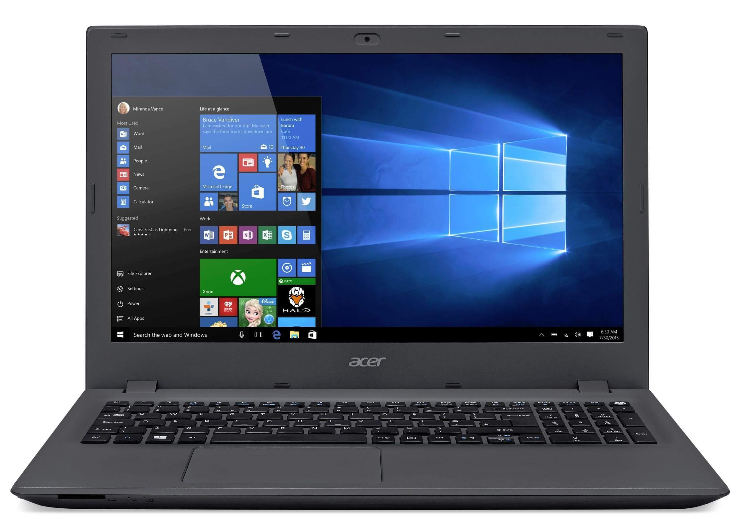 Acer Extensa 4210 Camera Windows