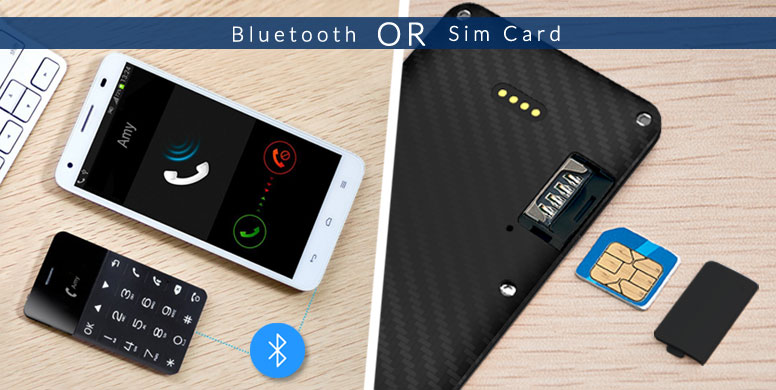 Talkase 1 - bluetooth or sim