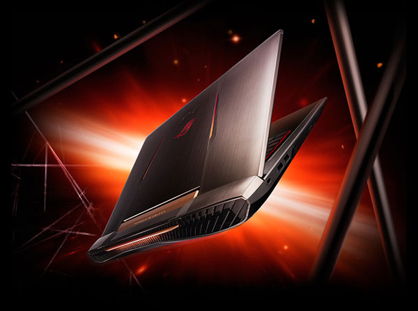 ASUS G752VY Republic of Gamers Gaming laptop