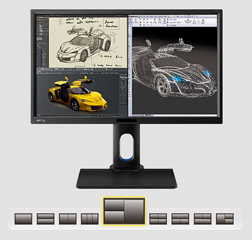 BenQ BL2420PT monitor for design