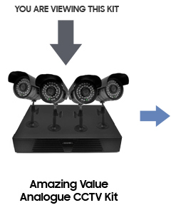 Amazing Value Analogue CCTV Kit