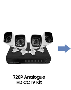 Analogue HD CCTV Kit