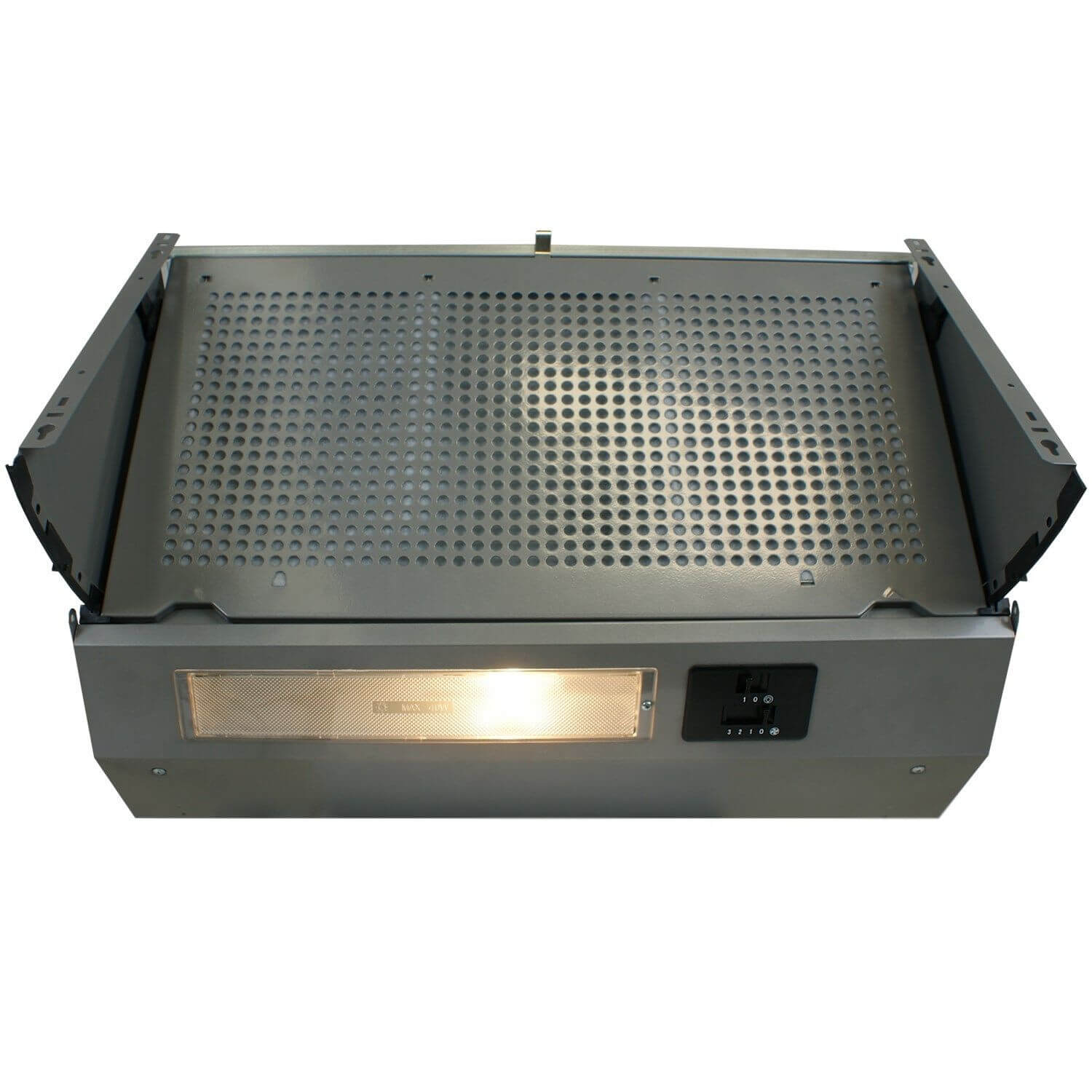 60cm Integrated Cooker Hood Built in Kitchen Extractor Fan ...