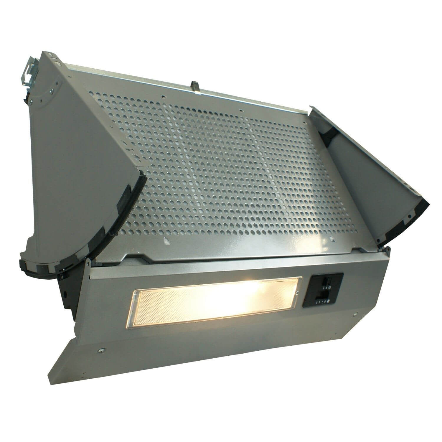 Kitchen Extractor Fans : Cm integrated cooker hood built in kitchen extractor fan